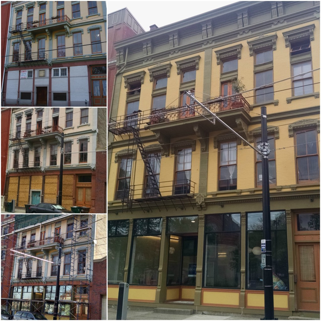 We helped to bring our office space back to life at 1224 Race Street in Over-the-Rhine.